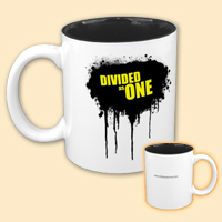 Two-Tone Splatter Mug